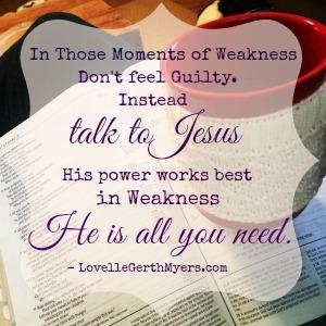 Hispowerinweakness