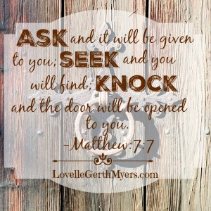 Knock, Seek, Find